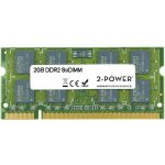 2-Power SODIMM DDR2 2GB 667MHz CL5 MEM4202A