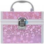 Norma STEEL FACTORY Save Pink CASE Kosmetický kufřík se zrcátkem růžový LKP4
