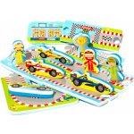 Meadow Kids Puzzle Automobilový závod