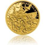 Česká mincovna Zlatá mince Válečný rok 1943 Bitva o Guadalcanal 3,11 g
