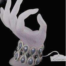 Náramek šedý Corani C35