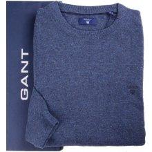 GANT pánský vlněný modrý svetr 86551