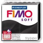 FIMO Modelovací hmota Soft černá
