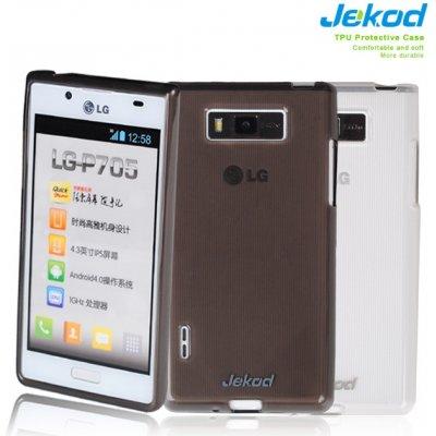 Pouzdro JEKOD TPU Ochranné LG P700 Optimus L7 černé