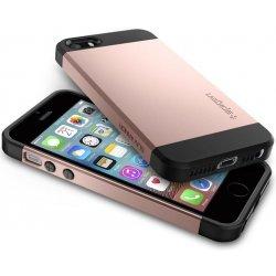 Pouzdro na mobilní telefon Pouzdro Spigen Slim Armor iPhone SE   5s   5  rose zlaté 2fa16751052