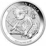 Perth Mint Australian Koala stříbrná mince 1 Oz 2018