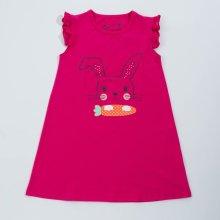 a1def0bbf63c Dětské dívčí šaty Wolf S2818 tmavě růžové