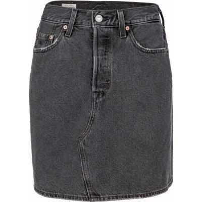 Levi's HR Decon Iconic Bf Skirt Core dámská riflová sukně