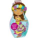 Oblékáme tahitské panenky Mohea omalovánky