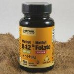 Jarrow B-12 & Methyl Folate (kyselina listová) 100 pastilek