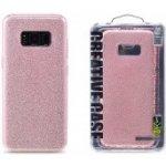 Pouzdro REMAX Etui Glitter Samsung G955 Galaxy S8 Plus růžová 46707