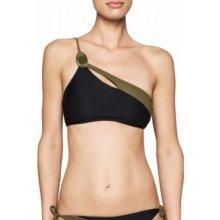 21323d691d7 Calvin Klein SHOULDER BRALETTE Plavková poprsenka černá