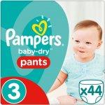 Pampers Baby-dry Pants 3 6-11kg 44ks