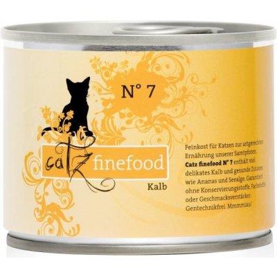 Petnature Catz Finefood No.7 s telecím masem 200 g