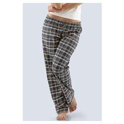 c189acee5a7 Gina 19029P dámské pyžamové kalhoty bokové dlouhé s potiskem lososová  lékořice