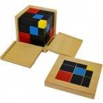 Montessori A161 Trinomická krychle
