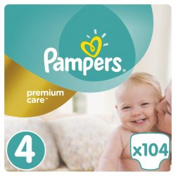 Pampers Premium care 4 maxi 104 ks