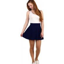 183a0c443fb0 Glara áčková mini sukně tmavě modrá 284472