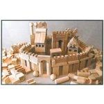 HMmax Dřevěné kostky XL 220 kusů
