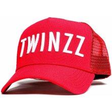 1e55990b06c TWINZZ 3D Mesh Trucker Kšiltovka Red   White