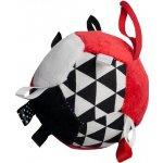 Hencz Toys Plyšový barevný balónek červený