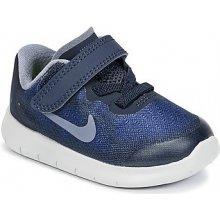 Nike Free Run 2017 PRESCHOOL Modrá
