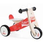 JANOD 03261 dřevěné odrážedlo Little Bikloon Red&White