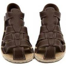 Barefoot dětské boty ZEAZOO mokasíny ŠEDO-MODRO-ŽLUTÉ. 999 Kč Prcek v  bavlnce · Barefoot dětské sandálky ZEAZOO MARLIN hnědé c6159f593b