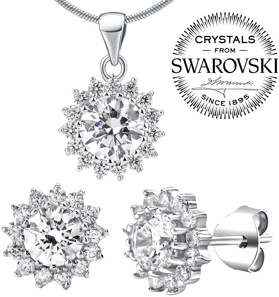 Příslušenství k Silvego stříbrná souprava šperků se Swarovski Zirconia  JJJS2488 - Heureka.cz bce38eb9638