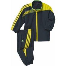 Adidas Dětská souprava J MM F50 černá žluá zelená Z32519
