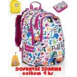 školní batoh+penál+sáček TOPGAL CHI 701 B DOPRAVNÉ ZDARMA KOLEKCE 2014