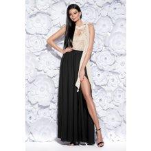f1a4458d6984 Nejnovější recenze ze sekce Plesové šaty. BICOTONE dámské dlouhé šaty  Athéna černo zlatá