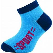 Novia Dětské kotníkové ponožky 128N 4 páry v balení mix vzorů sport 7f8d9d7908