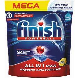 Finish All in 1 Max tablety do myčky nádobí Lemon Sparkle 94 ks