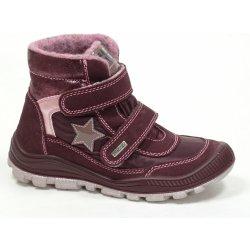 Dětská bota Santé IC 230878 VINO dětská zimní vycházková obuv vínová 92fe205d9c