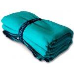 nabaiji NABAIJI ručník z mikrovlákna velikost L 80x130 cm - rychleschnoucí osuška azurová