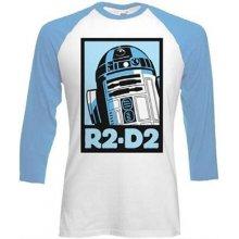Tričko Star Wars R2-D2 s dlouhým rukávem