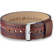 Tommy Hilfiger náramek Hnědý kožený TH2700685