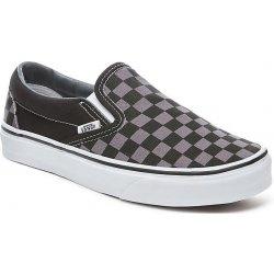 822ccb1227d Dámská obuv Vans Classic Slip-On checkerboard black pewter