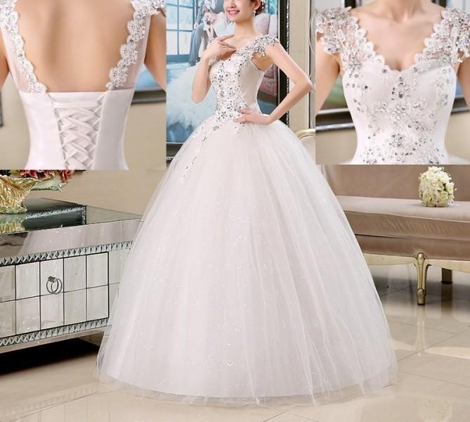 Šaty na svatbu Luxusní šaty 2931-031 - Seznamzboží.cz da94d9728e8