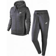 Nike W Nsw Trk Suit flc Grey