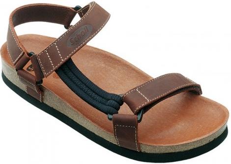 ac26375b5557 Scholl HEAVEN hnědé zdravotní sandály