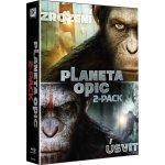 ÚSVIT PLANETY OPIC + ZROZENÍ PLANETY OPIC KOLEKCE DVD