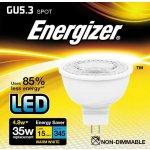 Energizer LED žárovka GU5,3 4,8W Eq 50W ,napětí 12V S8832 Teplá bílá