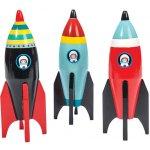 Le Toy Van dřevěná raketa 3D