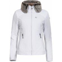 Icepeak dámská zimní softshellová bunda 3v1 Celia bílá/zlatá