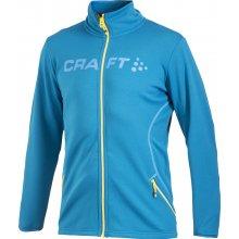 Craft Logo Full Zip Jacket Pánská celorozepínací mikina modrá