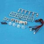 3Racing 3RAC-LEDK02 LED Crawler Light Bar Set 4 Spotlight
