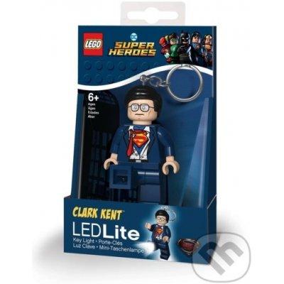 Přívěsek na klíče LEGO DC Super Heroes Clark Kent svietiaca figúrka