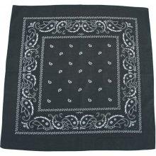 Bandana šátek olivovo- černý (M.F.H.) 1c4867f557